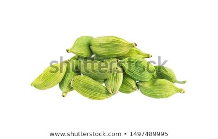 緑 カルダモン 種子 全体 果物 ストックフォト © maxsol7