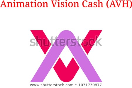 AVH - Animation Vision Cash. The Crypto Coins or Cryptocurrency  Stock photo © tashatuvango