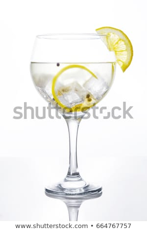Glass of gin and tonic Stock photo © Alex9500