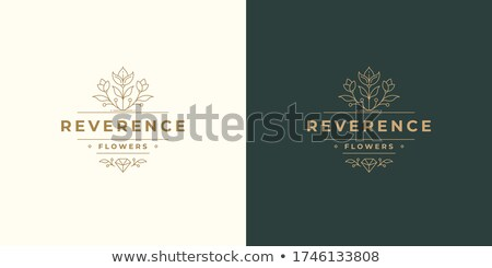 Botanical Design Label Templates Stock photo © ivaleksa