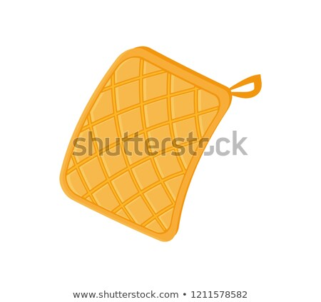Potholder Cloth for Hot Plates Vector Illustration Stock photo © robuart