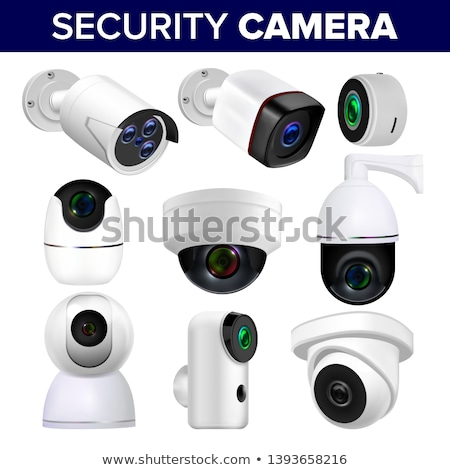 Ceiling Video Surveillance Security Camera Vector Stock photo © pikepicture
