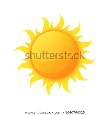 Sun Star, Heat and Warmth from Planet Isolated Stock photo © robuart