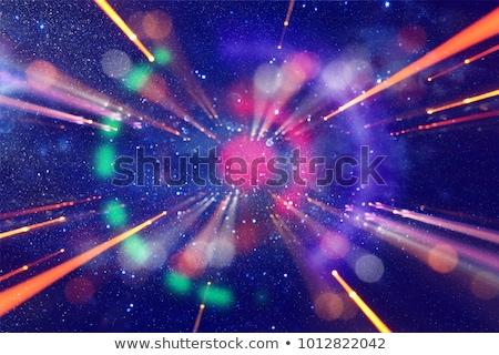 пространстве галактики туманность Элементы изображение Мир Сток-фото © NASA_images