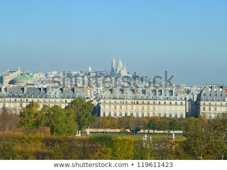 cityscape Mont Matre , Paris, France Stock photo © neirfy