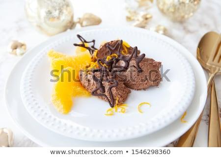クリスマス · 針 · オレンジ · スライス · 食品 · 中心 - ストックフォト © barbaraneveu