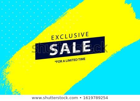 Amarillo mínimo estilo diseno fondo compras Foto stock © SArts