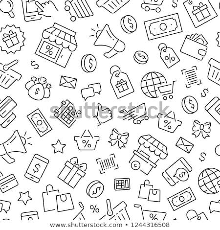 Финансы иллюстрация бизнеса деньги фон Сток-фото © olegtoka