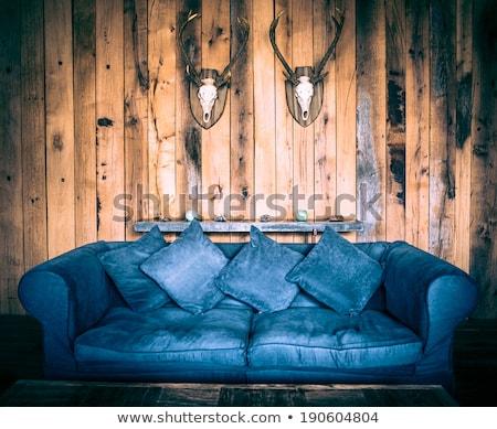 интерьер древесины домой комнату группа Сток-фото © nomadsoul1