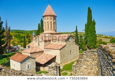 Manastır Georgia geç 10 km batı Stok fotoğraf © borisb17