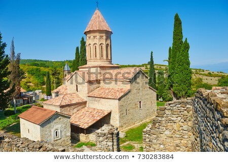 Ikalto monastery, Kakheti, Georgia Stock photo © borisb17