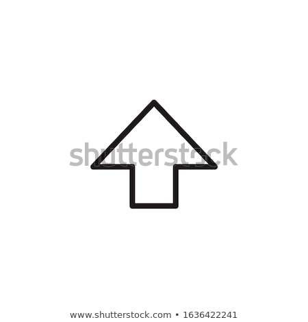 Shift Key Function arrow, Stock Vector illustration isolated on white background. Stock photo © kyryloff