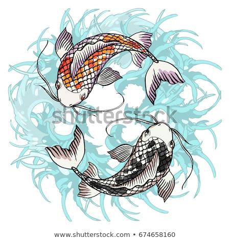 Taoism concept vector illustration. Stock photo © RAStudio