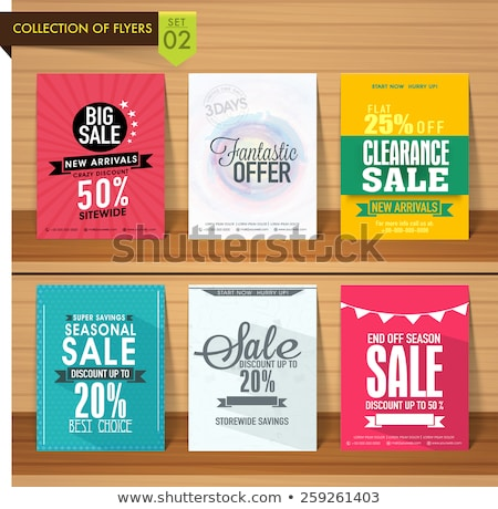 плакат продажи большой фантастический предлагать Сток-фото © robuart