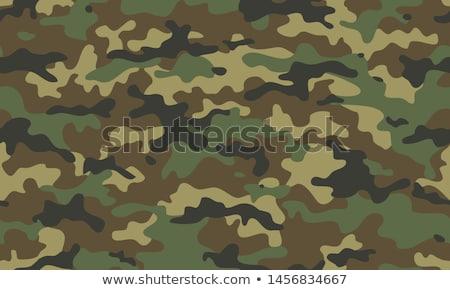 Wojskowych zielone kamuflaż wzór tekstury projektu Zdjęcia stock © SArts