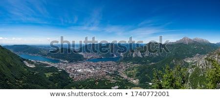 美しい 自然 ヨーロッパの アルプス山脈 風景 表示 ストックフォト © Anneleven