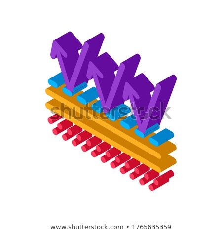 Protection Against External Factors isometric icon vector illustration Stock photo © pikepicture