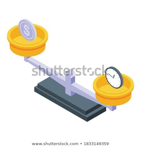 Soldi valuta isometrica icona vettore segno Foto d'archivio © pikepicture