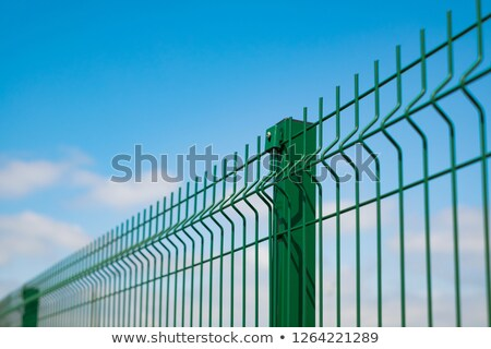 Wire grate fence Stock photo © bobkeenan
