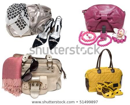 женский · сумку · пару · желтый · женщины · дизайна - Сток-фото © RuslanOmega