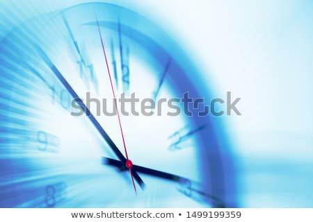 Foto stock: Tiempo · mover · reloj · alto · palabras