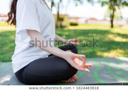 kadın · yan · kız · vücut · sağlık - stok fotoğraf © Paha_L