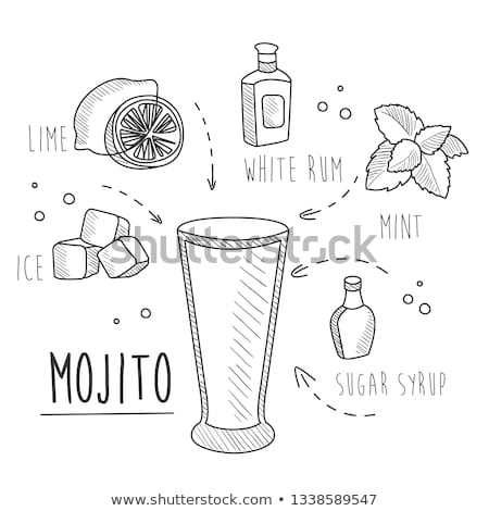 Mojito ingredients Stock photo © aladin66