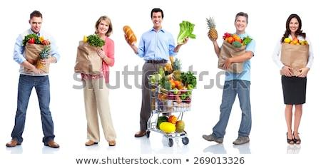 banane · blanche · alimentaire · fruits · jardin · été - photo stock © njaj
