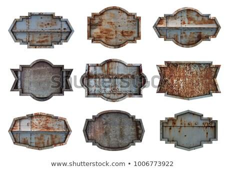 rozsdás · közelkép · fotó · számos · textúra · absztrakt - stock fotó © leeser