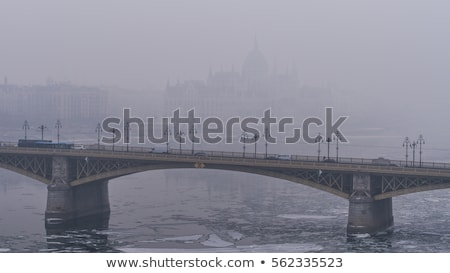 Smog over Budapest Stock photo © Spectral