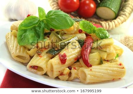 Tüzes chili cukkini fokhagyma gyógynövények konyha Stock fotó © joker
