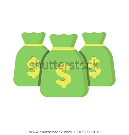 Three sacks full of coins Stock photo © AndreyKr