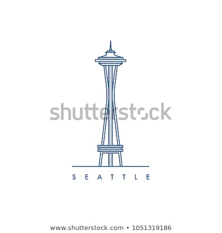 Seattle Space Needle stock photo © xochicalco