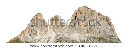 Hegy nyár völgy olasz fű zöld Stock fotó © Antonio-S