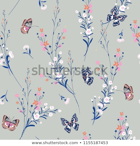 pastel colored small butterfly Stock photo © prill