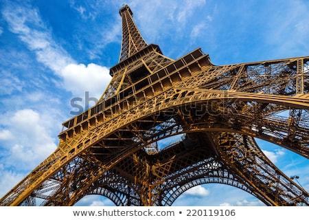 görmek · kule · Eyfel · Kulesi · Paris · Fransa - stok fotoğraf © timwege