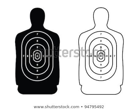 Lövöldözés nő ki terjedelem nők szépség Stock fotó © cboswell