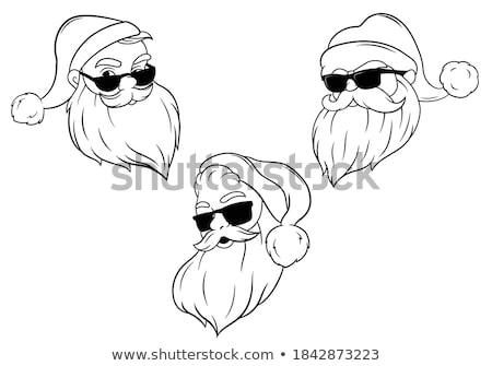 Gafas de sol establecer color gafas moda sol Foto stock © timurock
