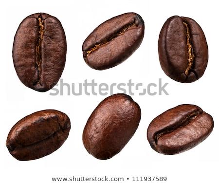 Kafe fasulye kahve siyah enerji pazar Stok fotoğraf © samsem