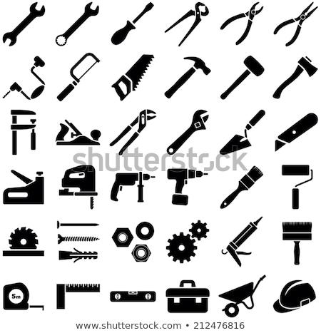 строители · молота · уровень · строителя · мастер · на · все · руки - Сток-фото © byjenjen