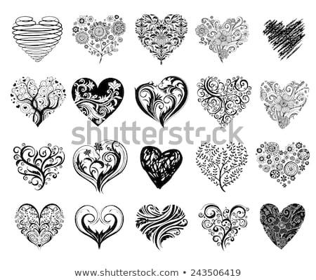 Gótico coração tatuagem amor moda nosso Foto stock © creative_stock