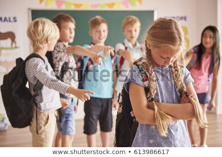 student being bullied by girls stock photo © photography33