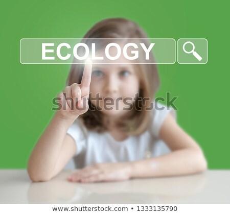 reciclar · ícone · tela · ambiente · conservação - foto stock © stuartmiles