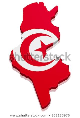 Flag Tunesia stock photo © Ustofre9