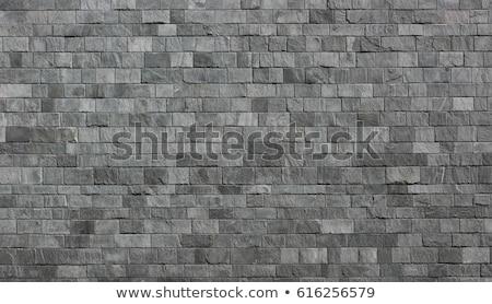 grey stone wall stock photo © homydesign