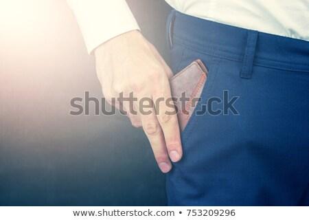 назад рук деловые люди мужчины Постоянный Smart Сток-фото © wavebreak_media
