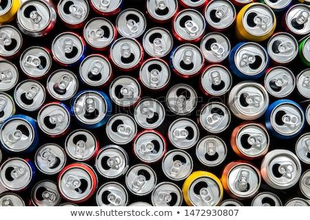 Metal vacío pueden reciclaje limpio Foto stock © wavebreak_media