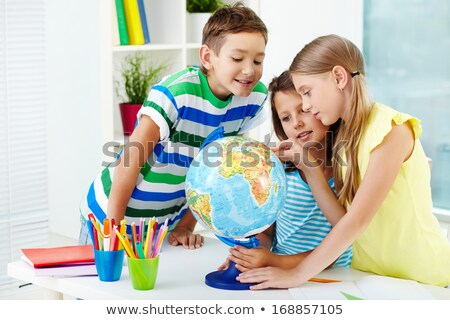 Cute lad Stock photo © pressmaster
