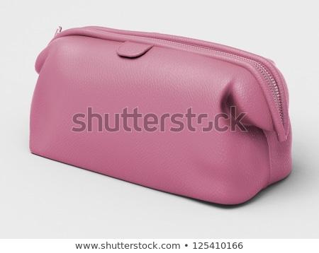 Rosa cuero embrague primer plano luz moda Foto stock © Supertrooper