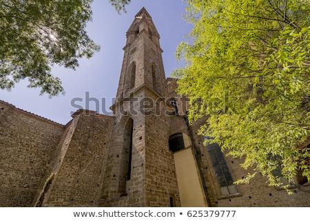 basiliek · florence · Italië · heuvel - stockfoto © photooiasson